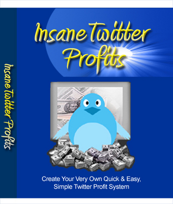 Product picture Insane Twitter Profits with Resale Rights!